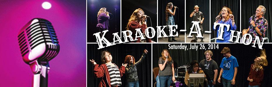 Karaoke-a-Thon Fundraiser