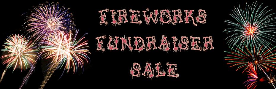 Fireworks Fundraiser Sale